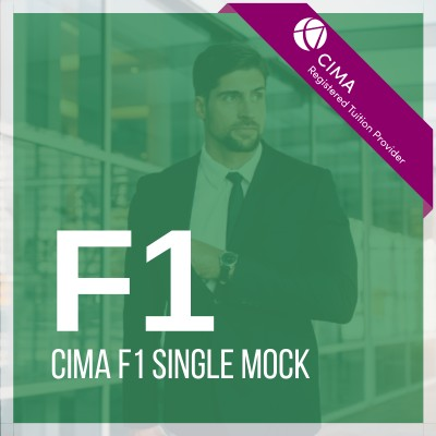 CIMA F1 Single Mock